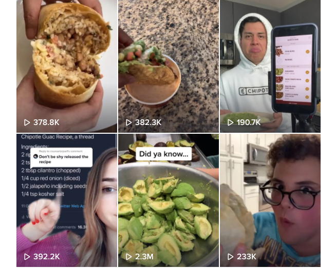 Chipotle on TikTok